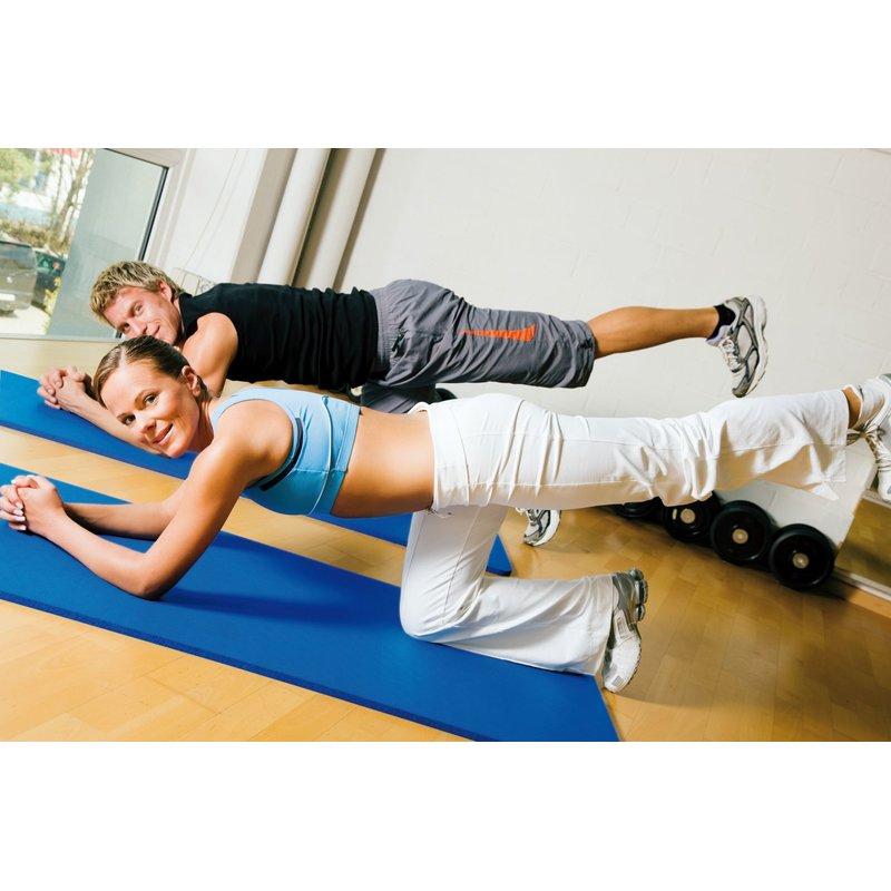 Friedola Gymnastikmatte 2 Flexbändern 65 x 180 cm inkl Bicolor ca